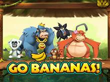 Автомат игрового клуба Вулкан Вперед, Бананы!